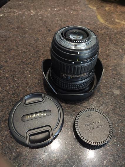 Lente Tokina 11-20mm 2.8 Pro Nikon D7100 D7200 D7500 D5500
