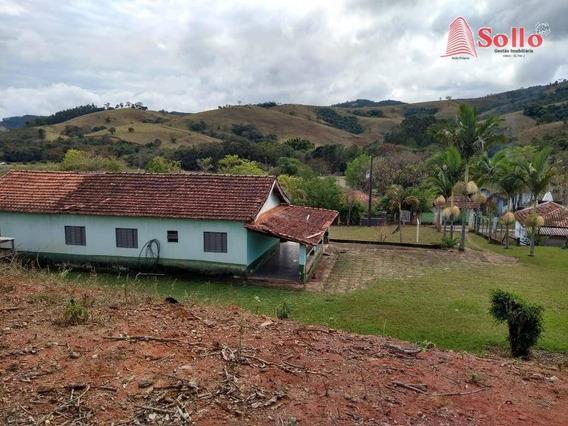 Chácara C/ 3 Dorms Ao Lado Da Igreja Do Bairro Perobal - Monte Sião/mg - Ch0005