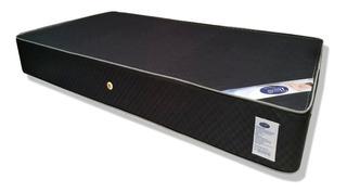 Colchon Semiortopedico Resortado Black 1.40x1.90