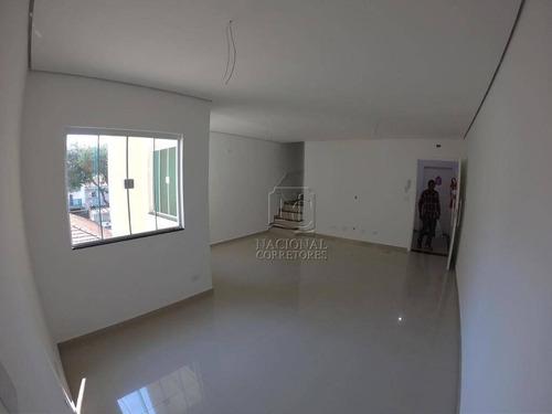 Imagem 1 de 20 de Apartamento Com 2 Dormitórios À Venda, 75 M² Por R$ 420.000,00 - Bangu - Santo André/sp - Ap11413