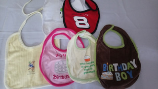 Pack De 6 Baberos