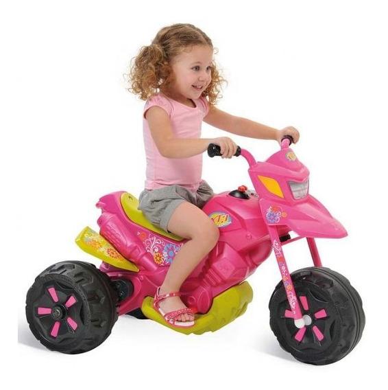 Moto Elétrica 6 Volts Fashion - Bandeirante - Rosa