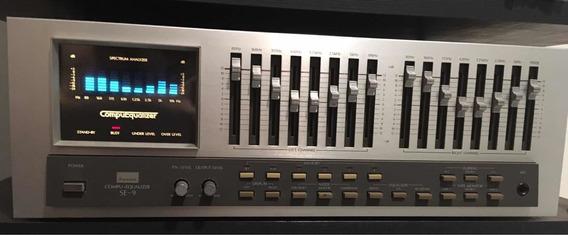 Equalizador Sansui Modelo: Compu-equalizer Se-9