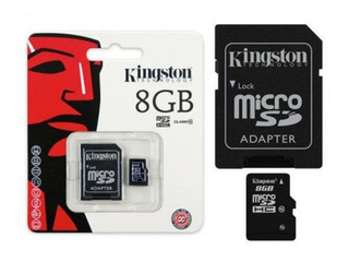 Cartao De Memoria Classe 4 Kingston Sdc4/8gb Micro Sd 8gb C