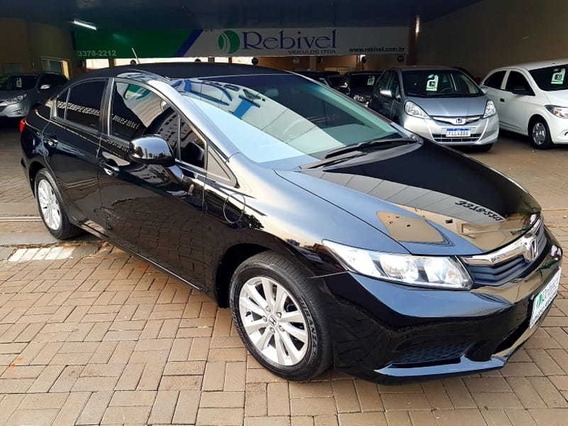 Honda Civic Sedan Lxs C-at 1.8 16v(new)(flex) 4p 2013