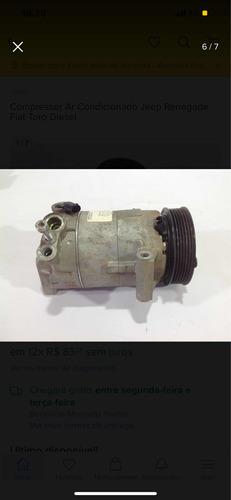 Imagem 1 de 4 de Peças Compressor Fiat Toro Vulcano