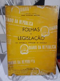 Folhas De Legislação Da Republica Popular De Angola Raro
