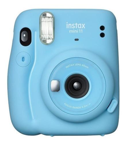 Imagem 1 de 5 de Câmera instantânea Fujifilm Instax Mini 11 sky blue
