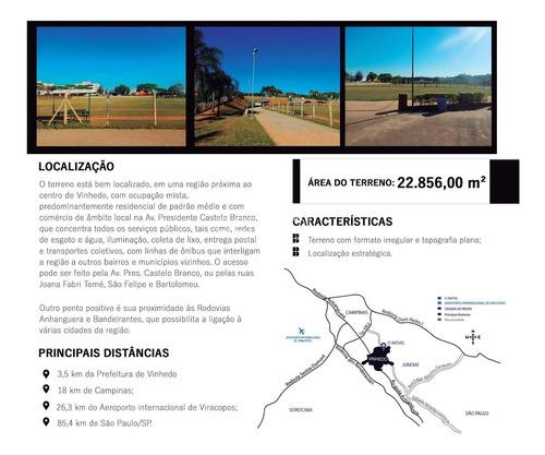 Área À Venda, Santa Claudina - Vinhedo/sp - 6670