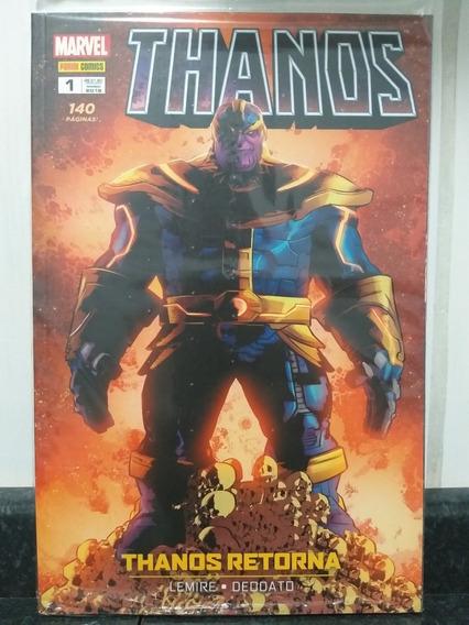 Hq Thanos 1 Thanos Retorna - Lacrado - Panini 2018 Rjhm