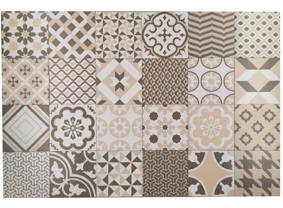 Recubrimiento Mosaico Fachaleta Decorativo 17x17cm 32pzas