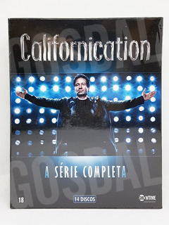 Dvd Californication Série Completa 14 Discos Novo Lacrado