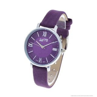 Reloj Zafira Mujer 1180 - Metal Malla Eco Cuero Gamuzada