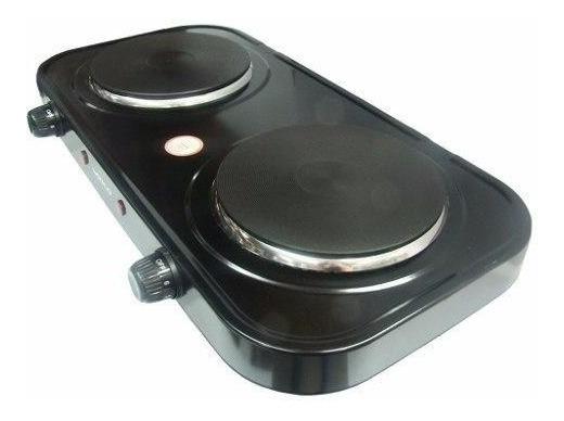 Anafe Electrico 2 Hornallas 1500w + 1000w Bajo Consumo