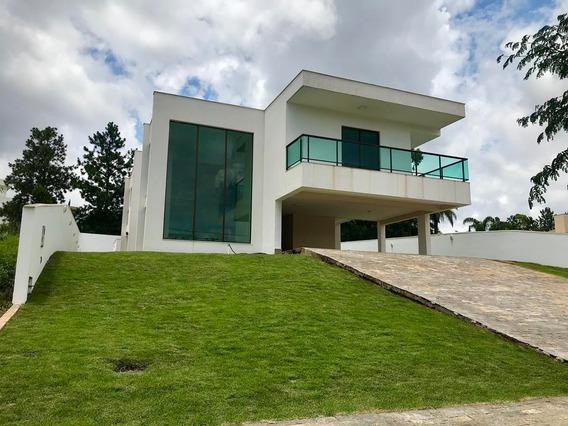 Oportunidade! Casa Recém-construída, 4 Quartos, Piscina, Para Locação Em Alphaville Lagoa Dos Ingleses - 692