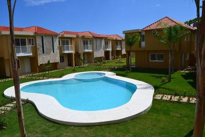 Oferta, Casas Tipo Vila, 3 Hab, Punta Cana, Desde Us$105,000
