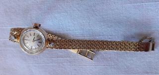 Vendo Reloj De Oro Marca Omega De Dama