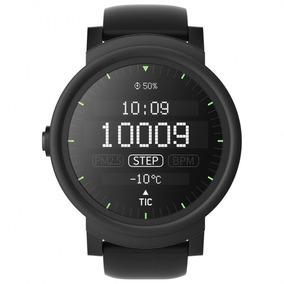 Relógio Ticwatch E Smartwatch Preto Silicone Unissex Pxpx