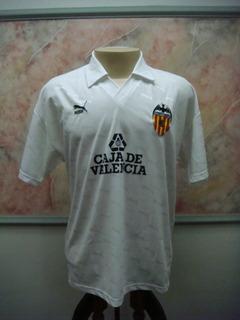 Camisa Futebol Valencia Espanha Puma Jogo Antiga 2030