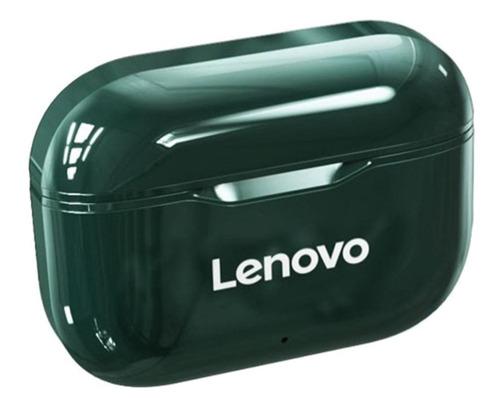 Imagen 1 de 3 de Audífonos in-ear inalámbricos Lenovo LivePods LP1 verde