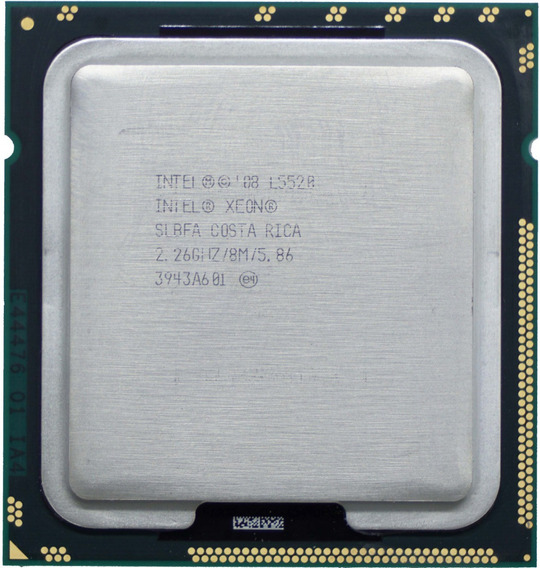 Processador Intel® Xeon® L5520 Cache De 8m, 2,26 Ghz, 5,86 G