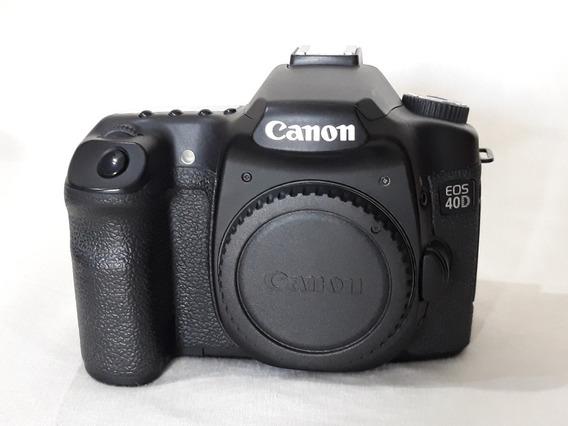 Canon 40d Com Lente 35-80mm Canon