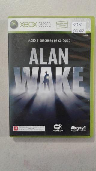 Alan Wake Xbox 360 E Xbox One Mídia Física
