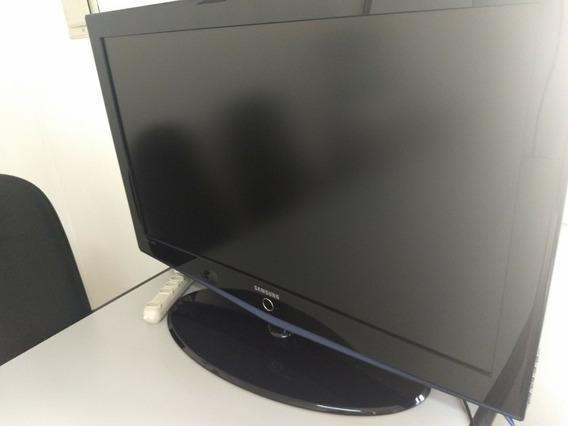 Tv Samsung Lcd 40 - Tela Com Defeito - Retirar