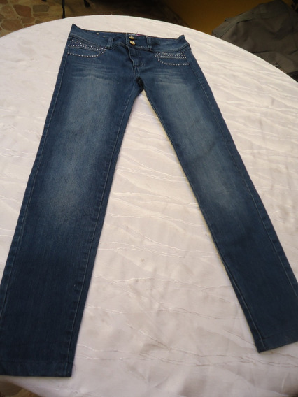 Pantalon Para Damas En Jeans Talla 12 Strech Sexy Jeans
