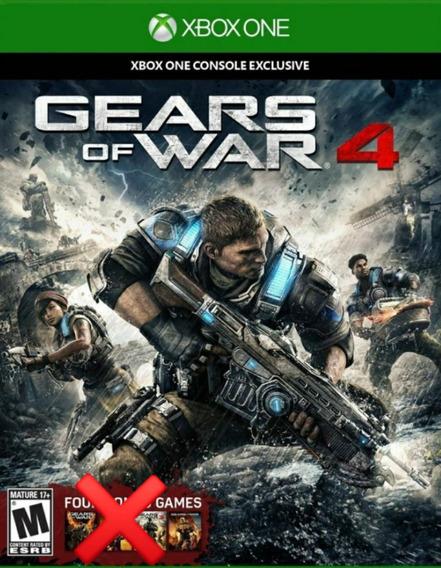 Gears Of War 4 P/ Xbox One Totalmente Em Português