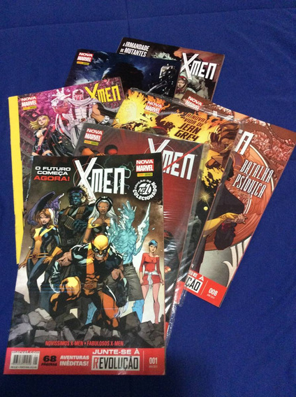 Hq X-men Nova Marvel Números 01, 02, 03, 08, 10, 19, 20