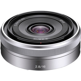 Lente Sony Sel 16mm F/2.8 Grande Angular E-mount
