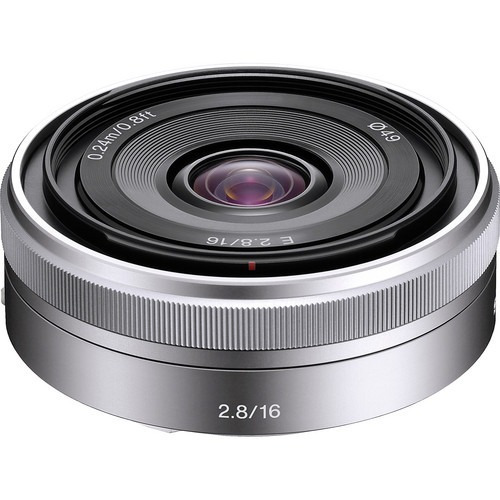 Lente Sony E 16mm F2.8 E-mount