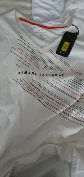 Camiseta Armani Exchange (original Con Etiquetas)