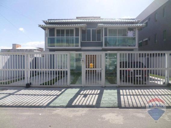 Apartamento Com 3 Dormitórios À Venda, 100 M² Por R$ 290.000,00 - Centro - São Pedro Da Aldeia/rj - Ap0422