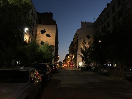 Cuadro 89-street Art-nantes-france5 32x20 C/marco De Madera