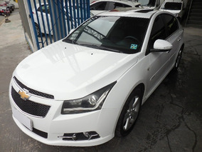 Chevrolet Cruze Sport6 Ltz 1.8 Flex 2014 Branco Com Teto