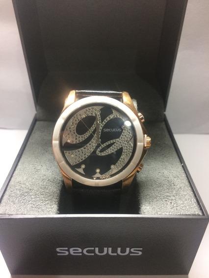 Relógio Feminino Seculus,couro,original,oferta,garantia