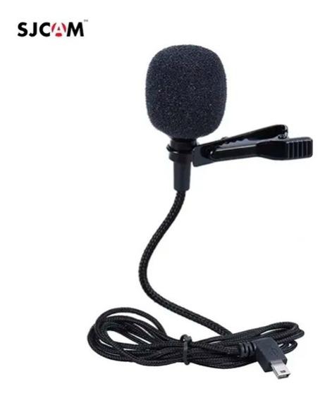 Microfone De Lapela Externo Compatível Sj6 Sj7 Sj360 Sjcam