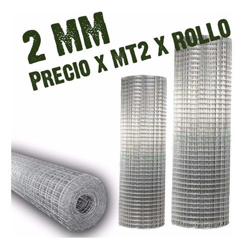 Tejido Malla Electrosoldado 1.5 Alt0x 25 Metros Rollo 1.9mm