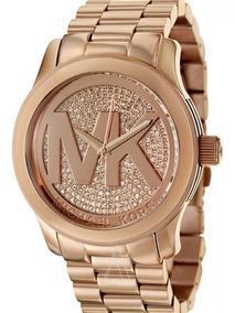 Relógio Oo1486 Michael Kors Mk5661 Rose Mk Grande + Caixa