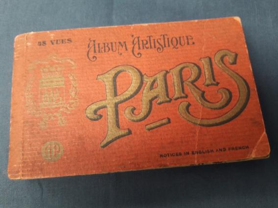 Antiguo Álbum 48 Postales Paris Año 1920.
