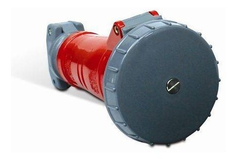Acoplamento Shock Tite 3p+n+t 16a 380v/440v 6h Vermelho Ip67
