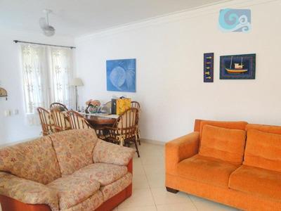 Casa À Venda No Condomínio Jardim Albamar, Praia De Pernambuco, Guarujá - Ca1651