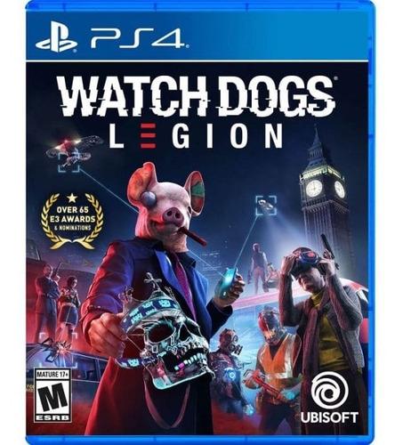 Ps4 Juego Watch Dogs Legion