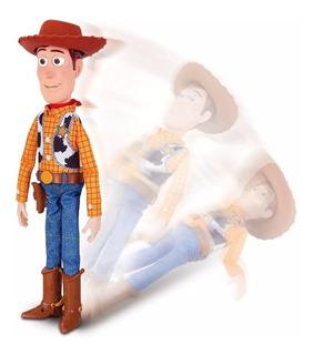 Toy Story 4 Sheriff Woody Animatronico En Español Original