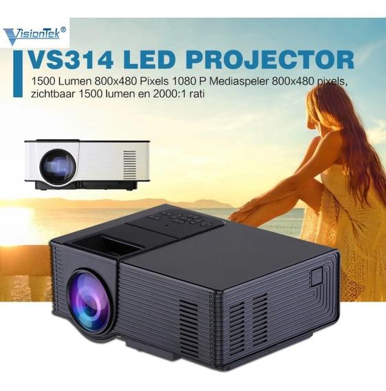 Projetor Led 1500 Lumens - Hdmi - Vga - 800x480