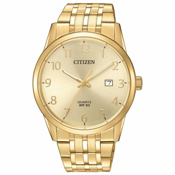 Reloj Citizen Acero Dorado Bi5002-57q Original Para Caballero