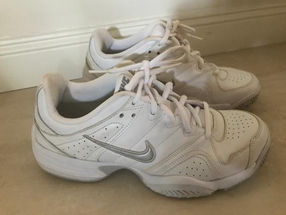Zapatillas Nike Tenis Un Sólo Uso Impecables Talle 9 Us
