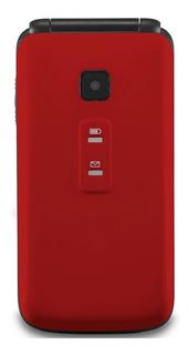 Celular Flip Vita Câmera P9021 Vermelho Dual Chip